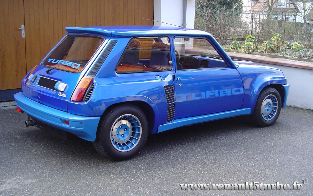 La Renault 5 Turbo de Patrick N des Vosges